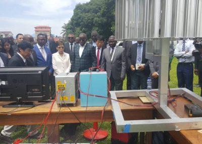 DRC Parliment Demo