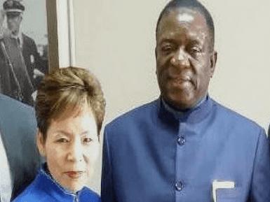 President of Zimbabwe - Emmerson Mnangagwa