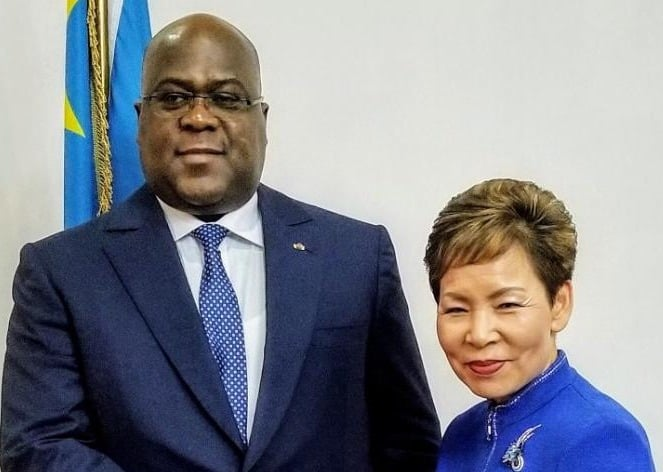 President Of DRC – Felix Tshisekedi