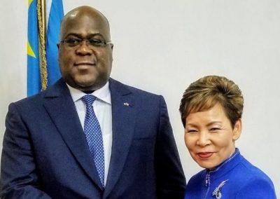 President Of DRC- Félix Tshisekedi